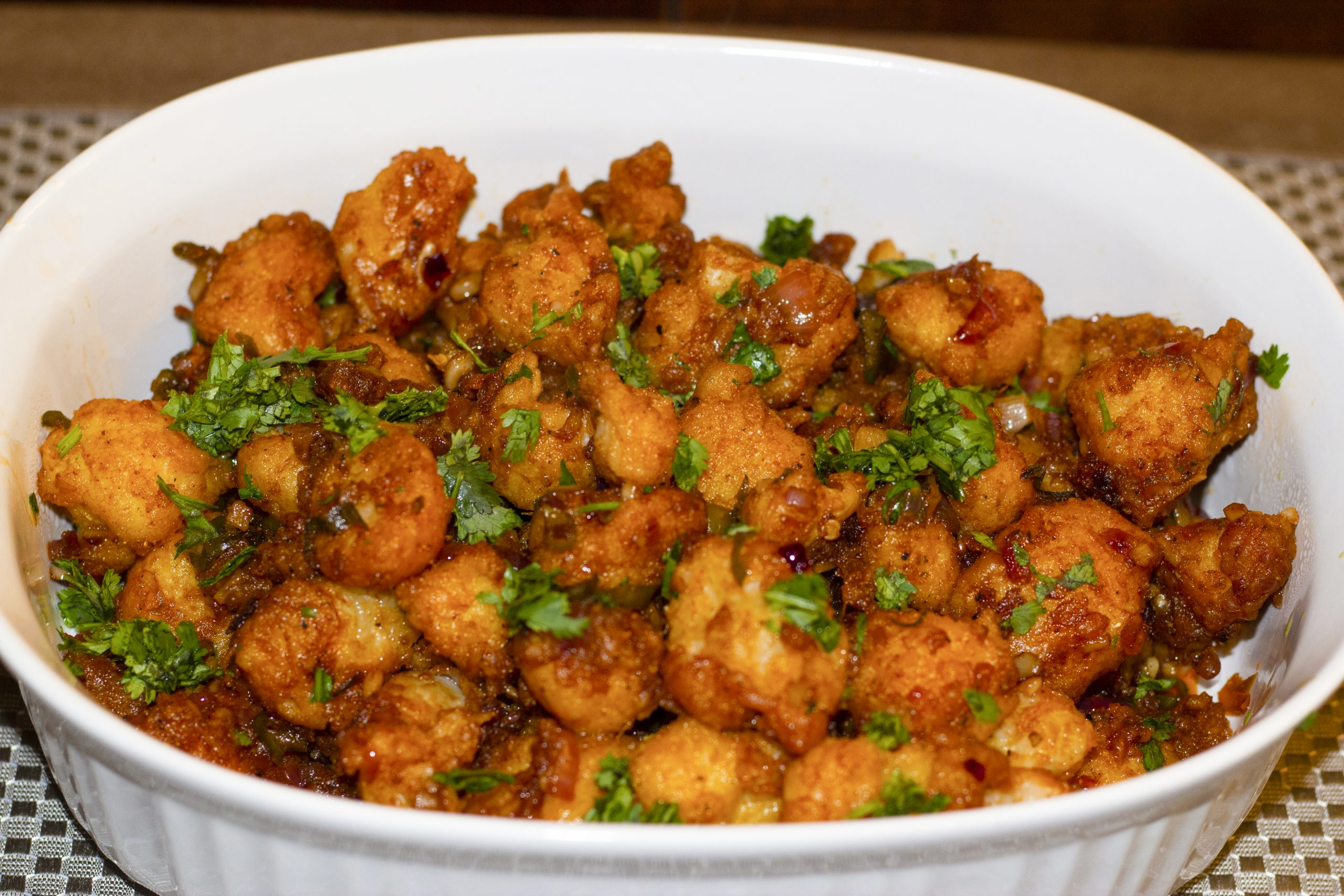 Gobi Manchurian Dry Crispy Cauliflower Manchurian Inspiresn